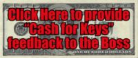 CASH FOR KEYS FEEDBACK